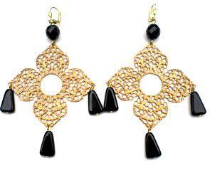 24 best ADORN: Etelage Chandelier Earrings images on Pinterest ...