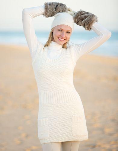 Revista mujer Básicos 7 Otoño / Invierno   3: Mujer Vestido   Crudo