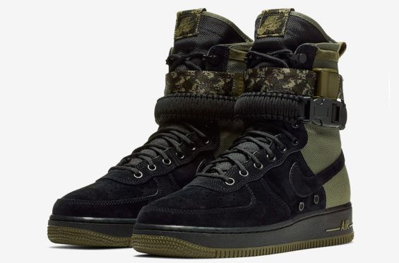 Camo Detailing On This Nike Special Field Air Force 1 | Military ...