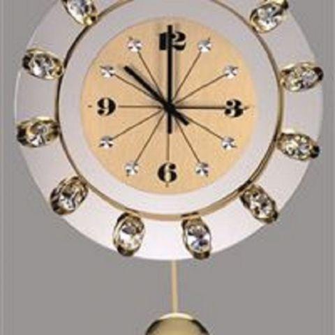 Preciosa - pozlacené nástěnné hodiny