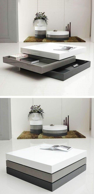Choisir Le Meilleur Design De La Table Basse Avec Rangement Avec