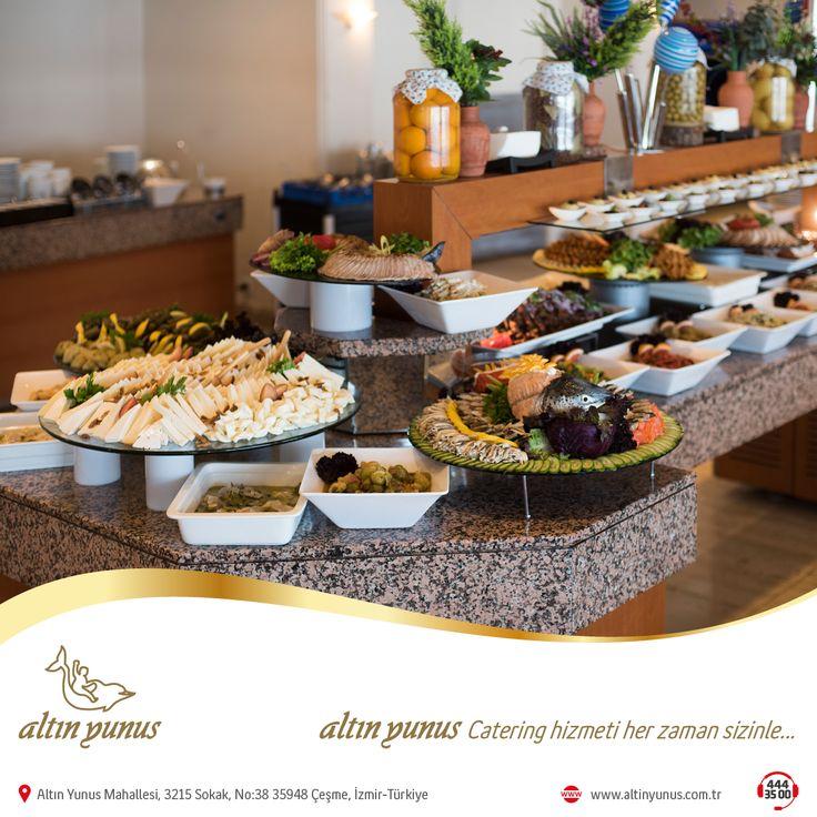 Deneyimli ekibimiz, zengin menülerimizle Türkiye'nin neresinde olursanız olun tüm organizasyonlarınızda hizmetinizdeyiz.