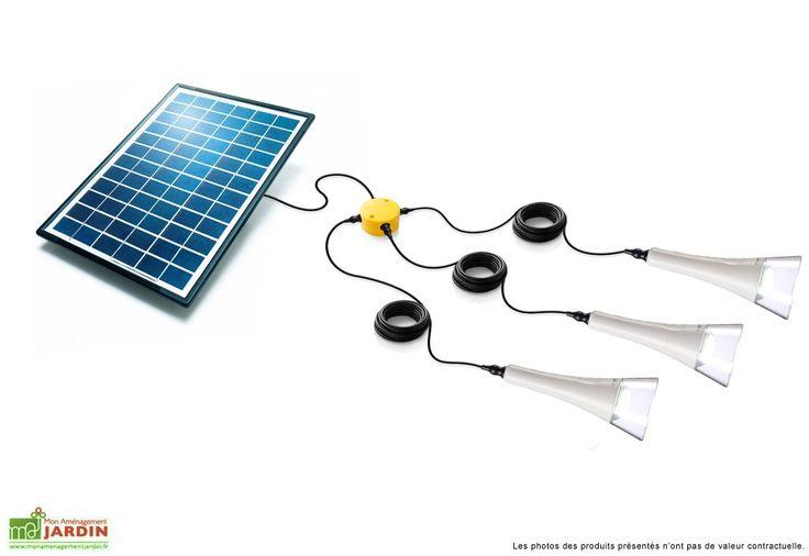 17 meilleures id es propos de eclairage solaire sur pinterest luminaire solaire luminaire for Eclairage jardin autonome