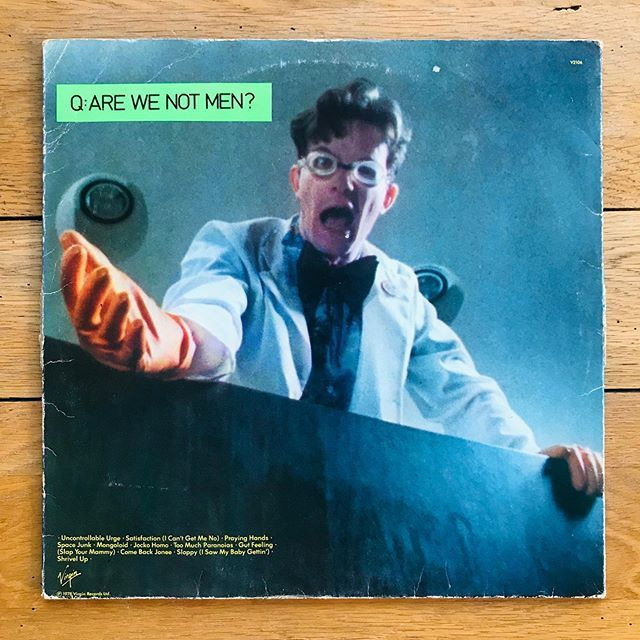 Devo Q Are We Not Men A We Are Devo Virgin 1978 Q Why Do I Not Own More Devo Albums A God Knows Coz This Is Excellent It In 2020