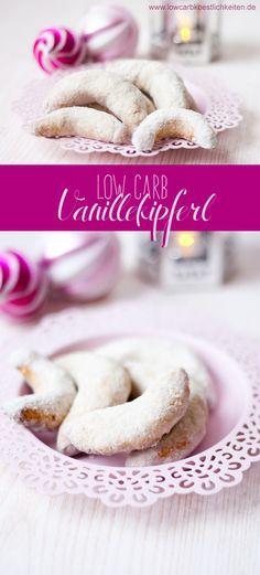 Die perfekten Low Carb Vanillekipferl #lowcarb #Weihnachten #Abnehmen #Diät #Vanillekipferl