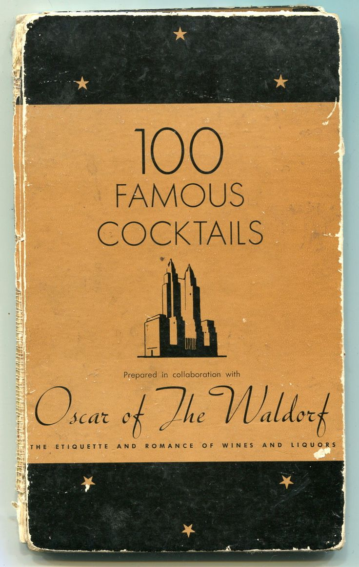 100 Famous Cocktails | Collectors Weekly