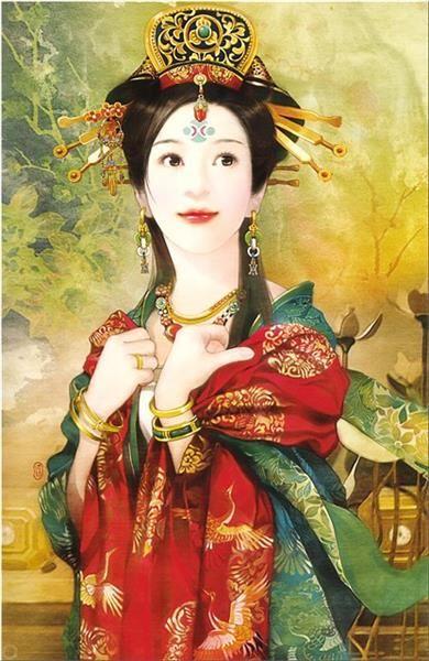 Макияж национальный костюм китайская девушка