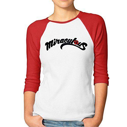 Duola Women's Baseball Tshirt Miraculous Ladybug Size M R... https://www.amazon.com/dp/B01KHR7DGY/ref=cm_sw_r_pi_dp_x_EIWoybM96YDMT