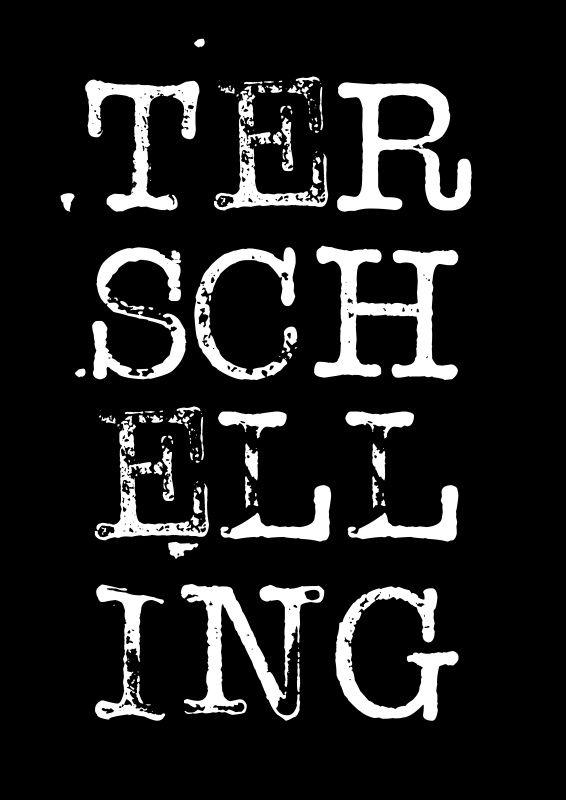 Poster | Terschelling zwart wit
