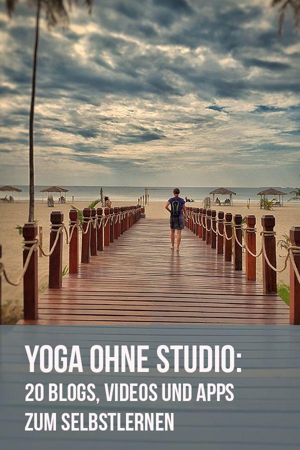Yoga sem Studio: 20 ótimos blogs, vídeos e aplicativos para auto-aprendizado   – Alternativ- und Ergänzungstraining