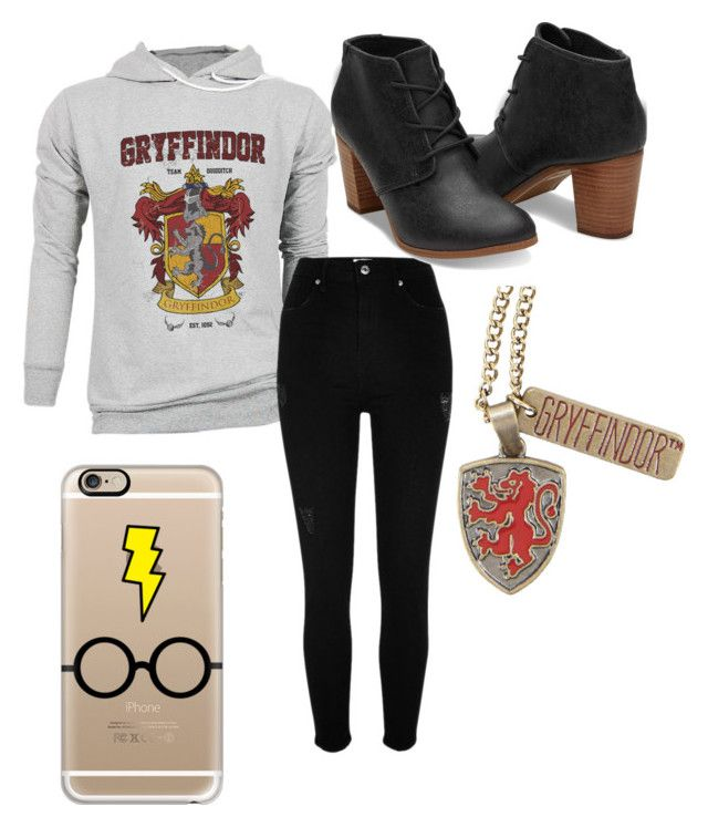 """""""Harry Potter"""" by chloeogrady1 on Polyvore featuring River Island, Casetify and Warner Bros."""