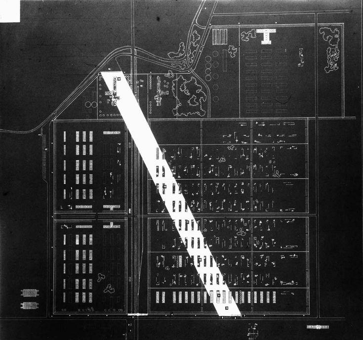 Oskar Hansen unrealized project of a monument in Oswiecim-Brzezin 1958 - Oskar Hansen - Monoskop