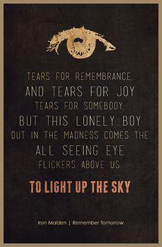 iron maiden lyrics - Google Search