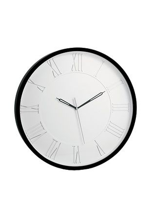 65% OFF Torre & Tagus Burton Station Clock, Black