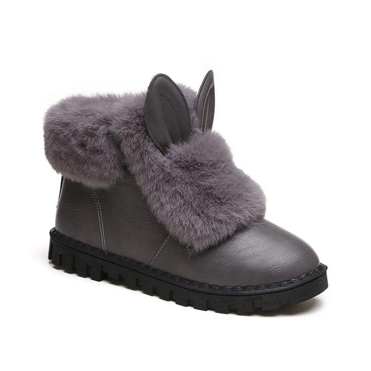 32.69$  Watch here - https://alitems.com/g/1e8d114494b01f4c715516525dc3e8/?i=5&ulp=https%3A%2F%2Fwww.aliexpress.com%2Fitem%2FWomen-Winter-Boots-Snow-Boots-Fur-Short-Winter-Ankle-Boots-Anti-Skid-Ladies-Shoes-Plush-Warm%2F32760150922.html - Women Winter Boots Snow Boots Footwear Winter Ankle Boots Anti Skid Ladies Shoes Plush Warm Botas Femininas Rabbit Casual Shoes 32.69$