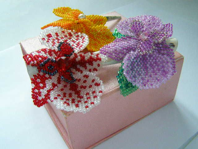 Картинки с бисерами для подарка