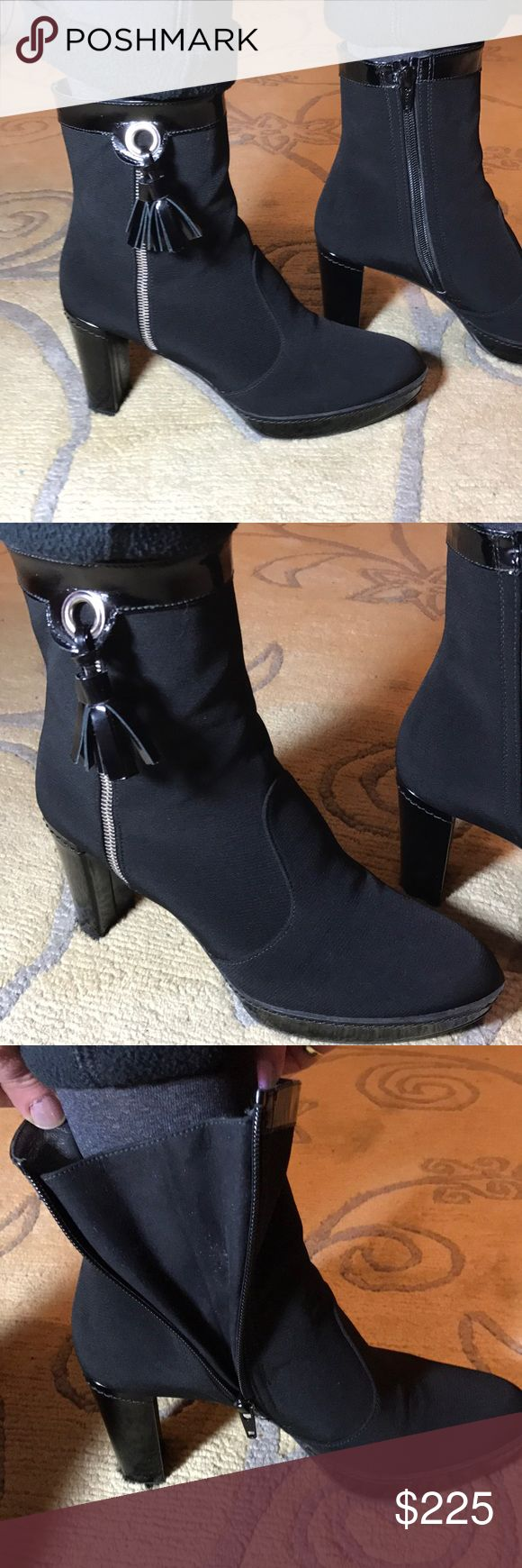 Stewart Weitzman gore tex water resistant boots Worn few times,great quality and very comfortable,zipper ankle stewart weitzman Shoes Ankle Boots & Booties