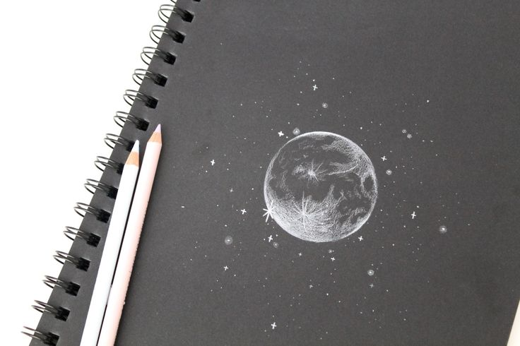 moon #sketch #art