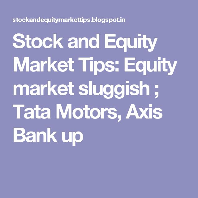 axis bank in equity market