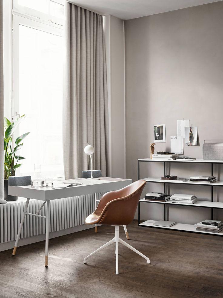 Cupertino Schreibtisch Mit Adelaide Stuhl Und Bordeaux Konsole. #boconcept  #scandinaviandesign #interiordesign #