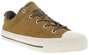 Womens brown trainers / pump from Schuh - £60 at ClothingByColour.com