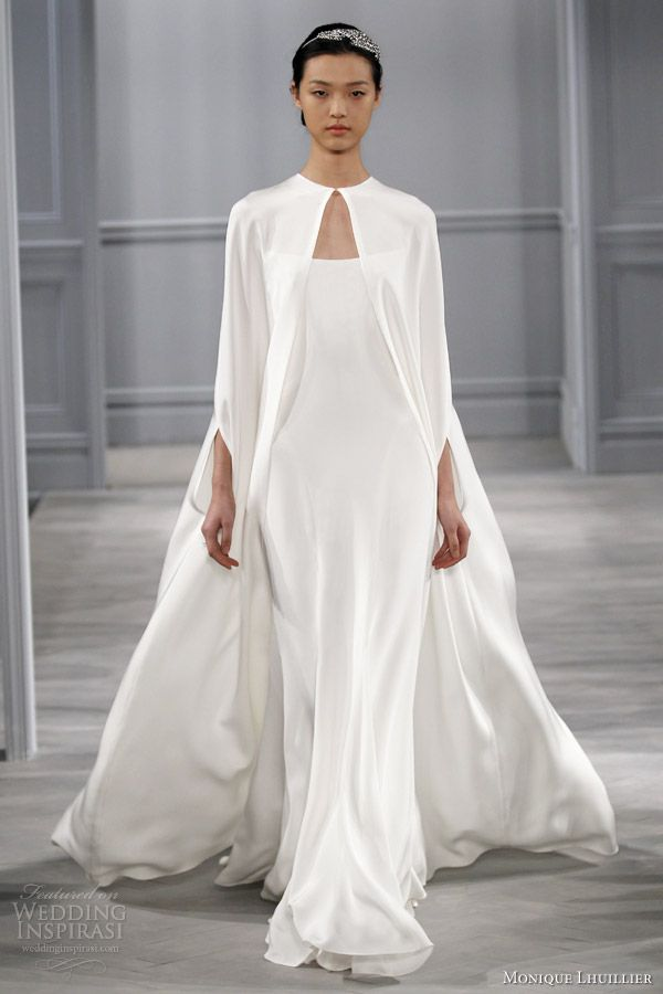 Monique Lhuillier Spring 2014 Wedding Dresses | Wedding Inspirasi