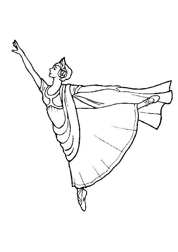 Bien connu Les 61 meilleures images du tableau Coloriages de danse sur  FL18