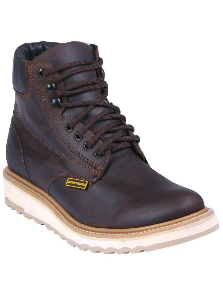 Las 25 mejores ideas sobre botas cafes en pinterest for Zapatos de trabajo blancos