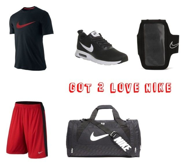 """""""Lovin Nike men"""" by silverwolf908 ❤ liked on Polyvore featuring NIKE, men's fashion and menswear"""
