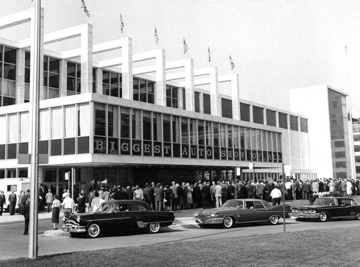 Detroit Auto Show at Cobo, 1963 Michigan Pinterest