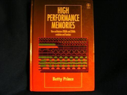 High Performance Memories: New Architecture DRAMs and SRAMs — Evolution and Function:   Traditional Dynamic Random Access Memory Modules, or DRAMs, no longer have adequate bandwidth and access time to keep up with the speed of current microprocessors. In order to solve this problem, many work stations and mainframe manufacturers are starting to use high speed memories, which are memory technologies that improve the speed and efficiency of microprocessors. It is expected that high speed...