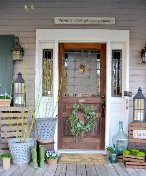 ComfyDwelling.com » Blog Archive » 65 Awesome Ways To Decorate Your Porch For Spring