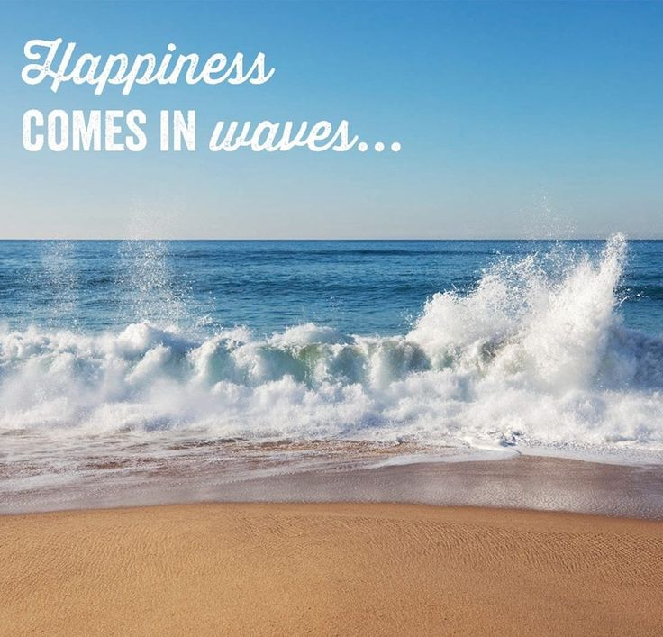 #Travel Thought - Happiness comes in waves. | Travel ...