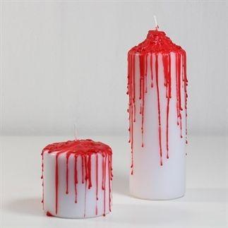 Halloween: Bloedende kaarsen maken