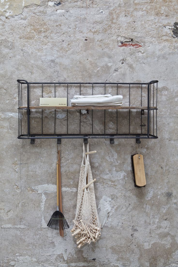 NEW! Shelving Giro. Metal with wood. BePureHome collection 2015/