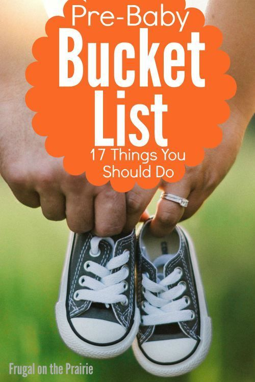 Take advantage of the free time you have before becoming a parent by checking off this Pre-Baby Bucket List: 17 Things You Should Do Before Having a Baby