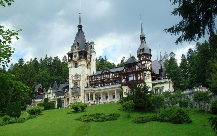 Карпаты, Румыния, замок Пелеш, Romania, Castle Peles