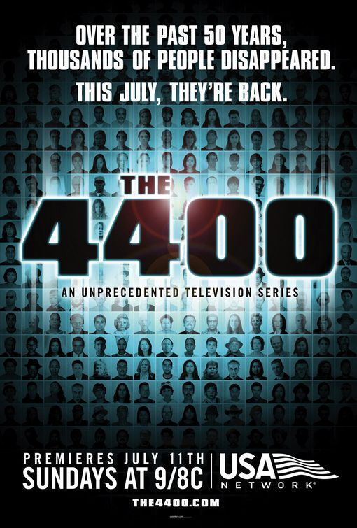 Just finished binge-watching this on Netflix. The 4400 Loved all four seasons. Wish there was a fifth.