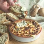 Down to Earth: Truffled Hot Cheese Dip with Mushrooms