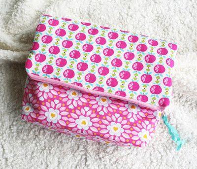 STARDUST BEADS: Kosmetiktasche - Taschensewalong | Schnitt Taschenspieler 3 von Farbenmix | Kulturtasche |