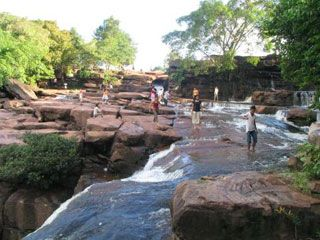 Kbal Chhay Waterfall, Attraction in Sihanouk ville | Tourism of Cambodia