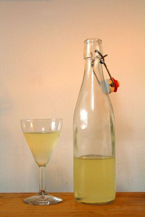 Melklikeur van van Boven - Het lijkt qua geur en kleur meer op limoncello, maar qua smaak heeft het wel het romige van de melk. Ongewoon Lekker dus!