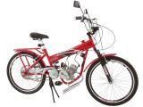 Bicicleta Motorizada Track & Bikes TkX POWER - Aro 24 49CC Lanterna Traseira e Dianteira