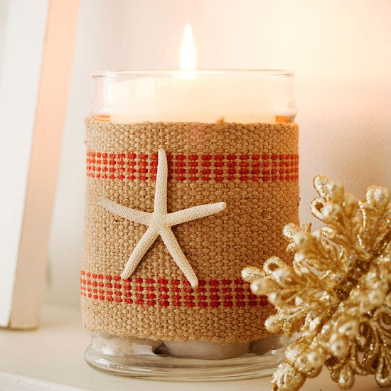 Beach-Theme Candleholder
