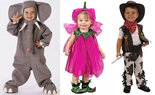 Новогодние костюмы для малышей оригинальные