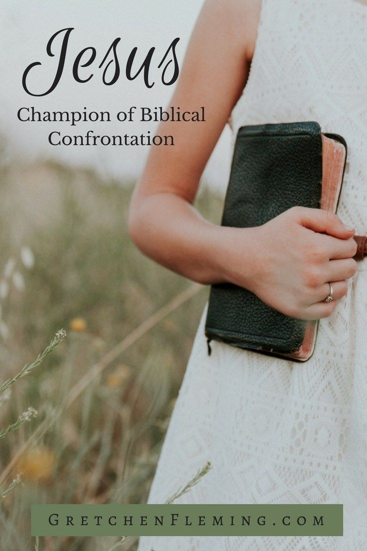 Do you believe that confrontation should be avoided at all cost in order to be a good Christian? Well, Jesus was the champion of confrontation but only for the right reasons. Find out why this topic is so important to you personally. #biblicalconfrontation #boldness #christlike