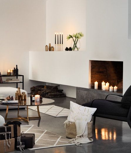 Glittrig förvaringskorg   Beige/Guld   Home   H&M SE