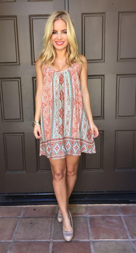 Spearmint Summer Dress