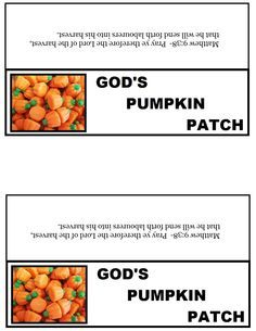 Small Church Fall Festival Ideas | ... small ziplock bag up with the concoction and staple our popcorn