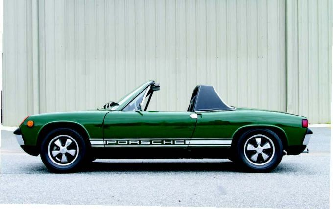 1970 Porsche 914 - A Porsche, or a low-mileage Mouse Hotel? Well, today's hot car was both.
